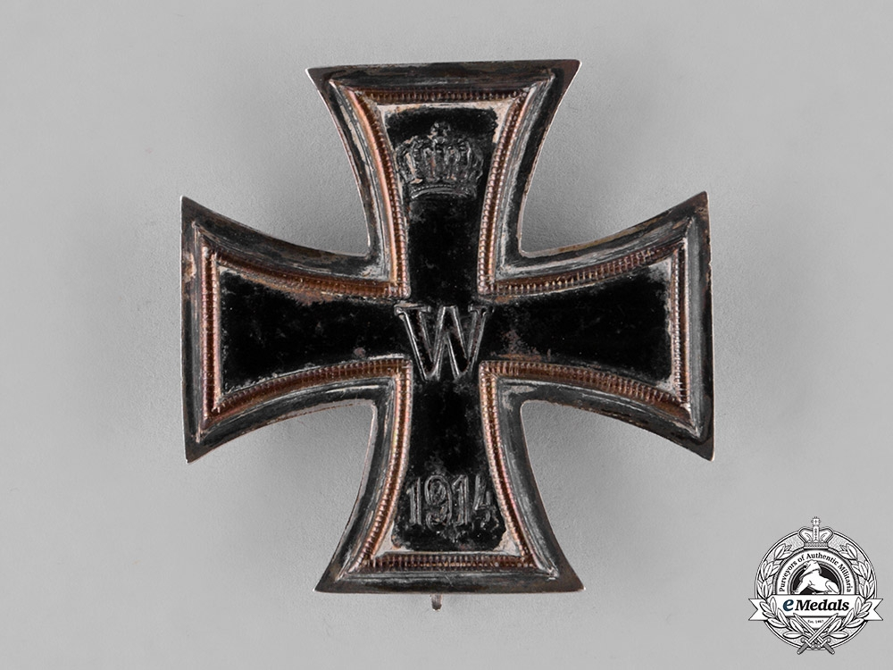 eMedals-Prussia, State. An Iron Cross 1914 First Class