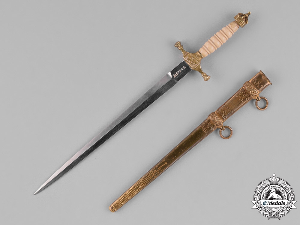 eMedals-Germany, Empire. A Colonial Naval Dagger Dirk Saleman's Sample