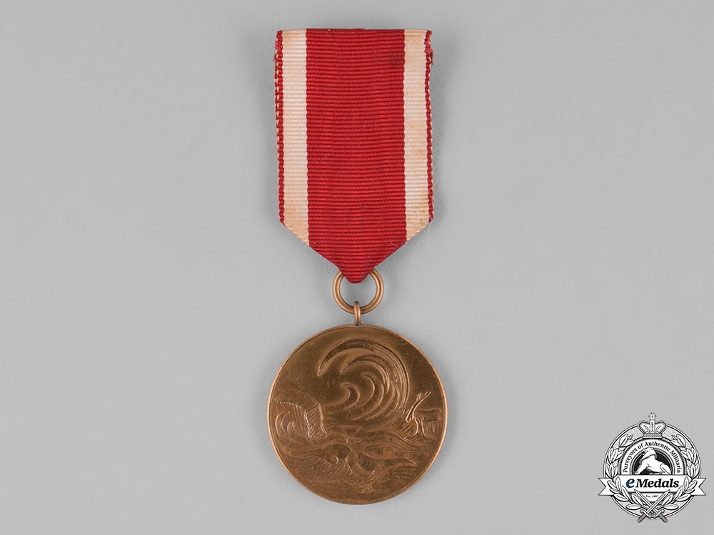 eMedals-Germany, Federal Republic. A 1962 Commemorative Medal for the Flooding of Hamburg