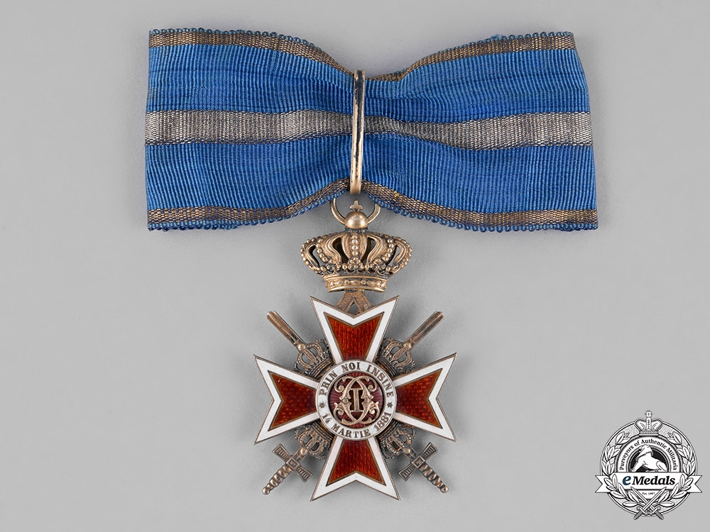 eMedals-Romania, Kingdom. An Order of the Crown of Romania, Commander, c.1935