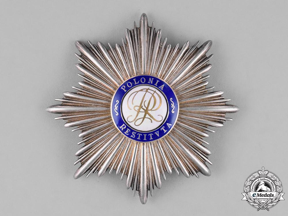 eMedals-Poland, Republic. An Order of Polonia Restituta, Grand Cross Star, c.1925