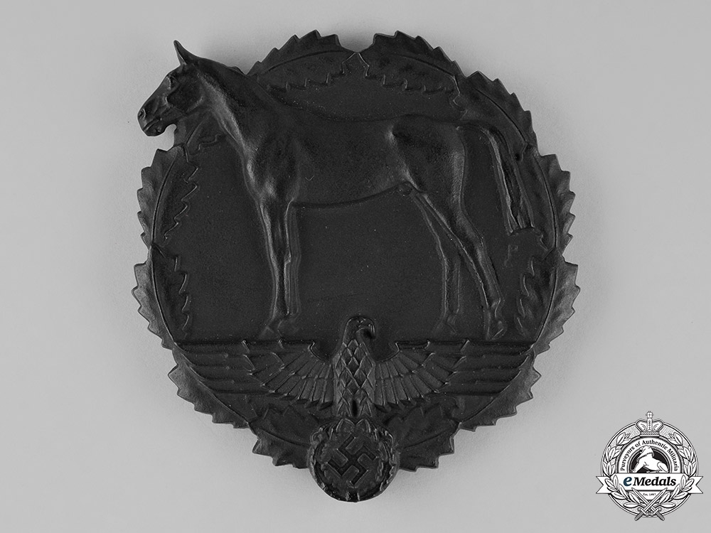 eMedals-Germany. A SA Award for Services towards the National Socialist Equestrian Youth