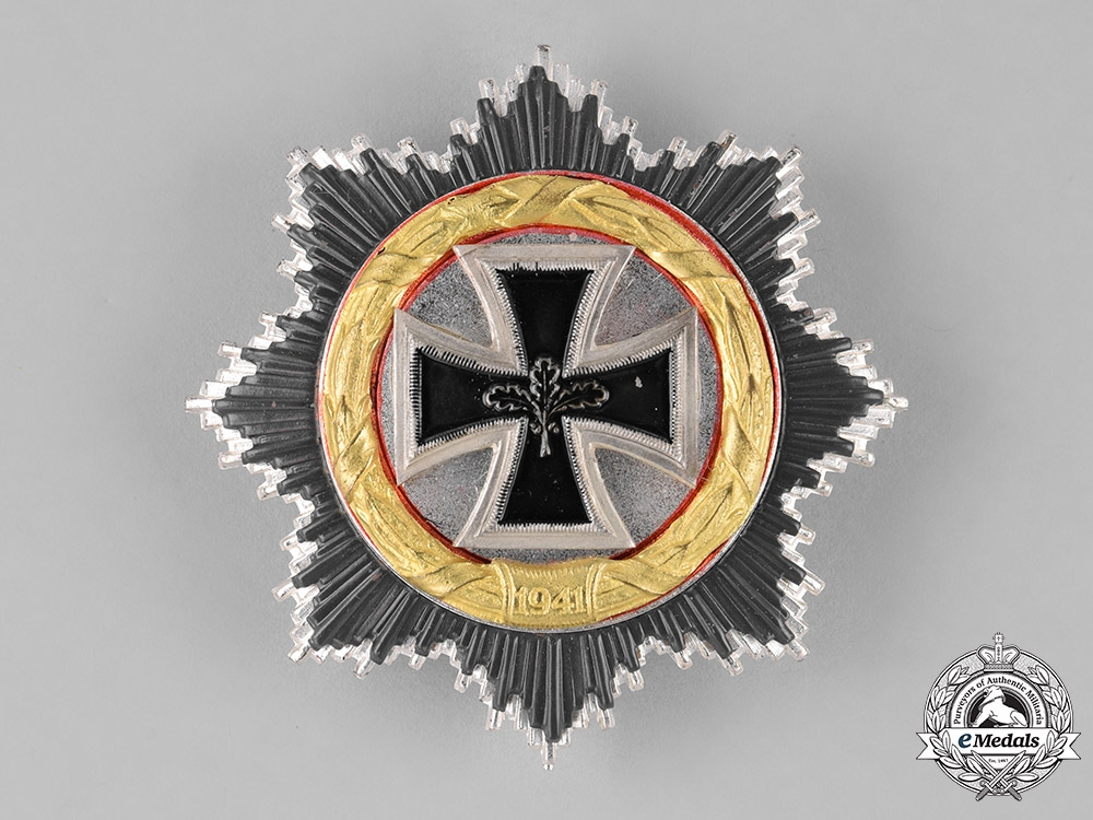 eMedals-Germany, Federal Republic. A German Cross in Gold, 1957 Version