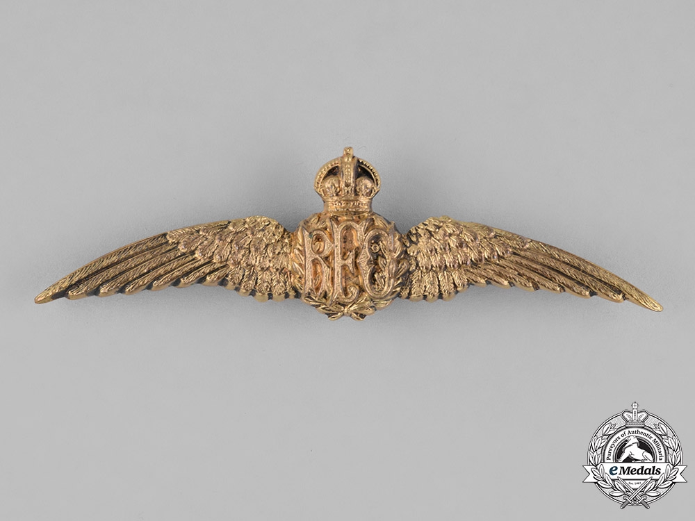 eMedals-United Kingdom. A Royal Flying Corps (RFC) Pilot Wings, c.1917