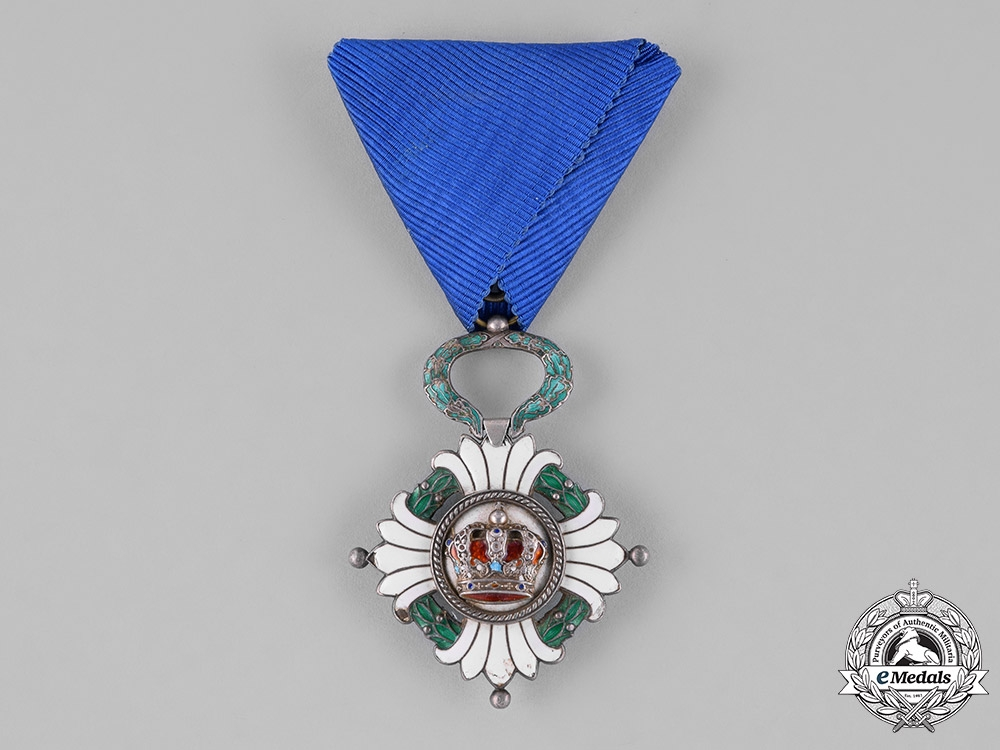 eMedals-Yugoslavia, Kingdom. An Order of the Yugoslav Crown, 5th Class, Knight