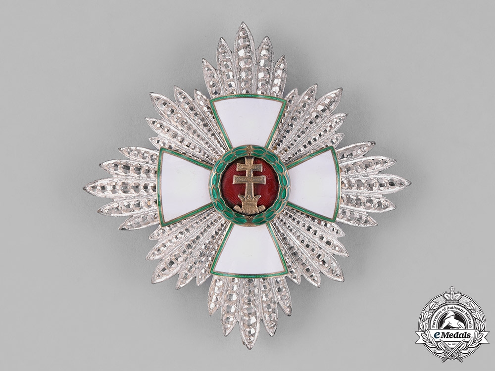 eMedals-Hungary, Kingdom. An Order of Merit, 2nd Class Commander Star, c.1940