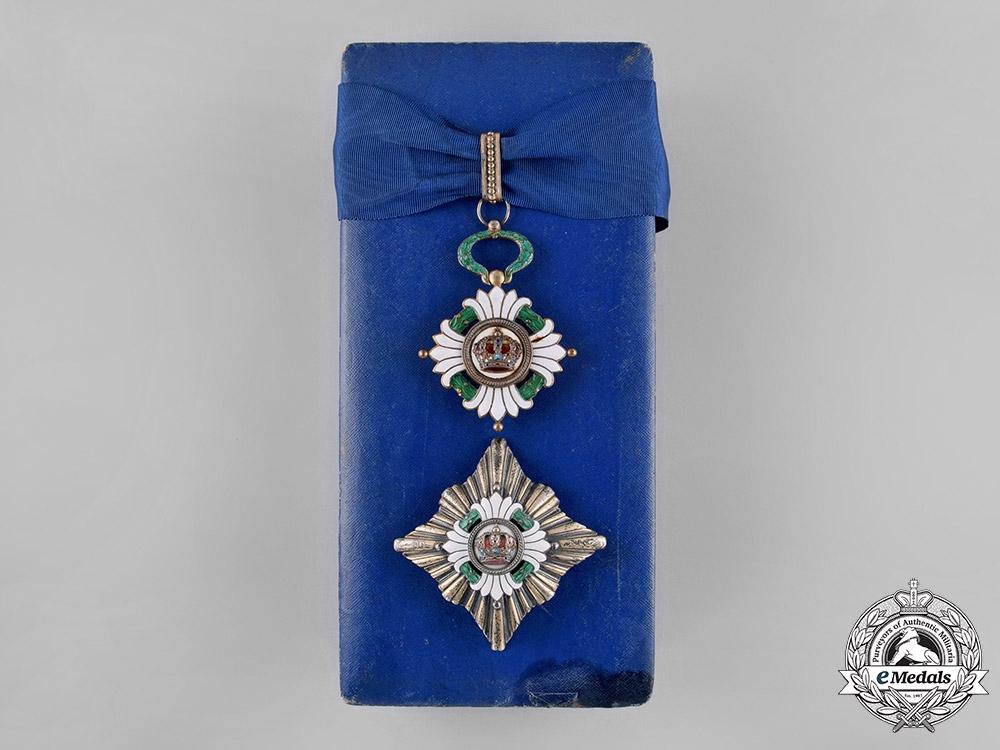 eMedals-Yugoslavia, Kingdom. An Order of the Crown, II Class, by Sorlini, Varaždin