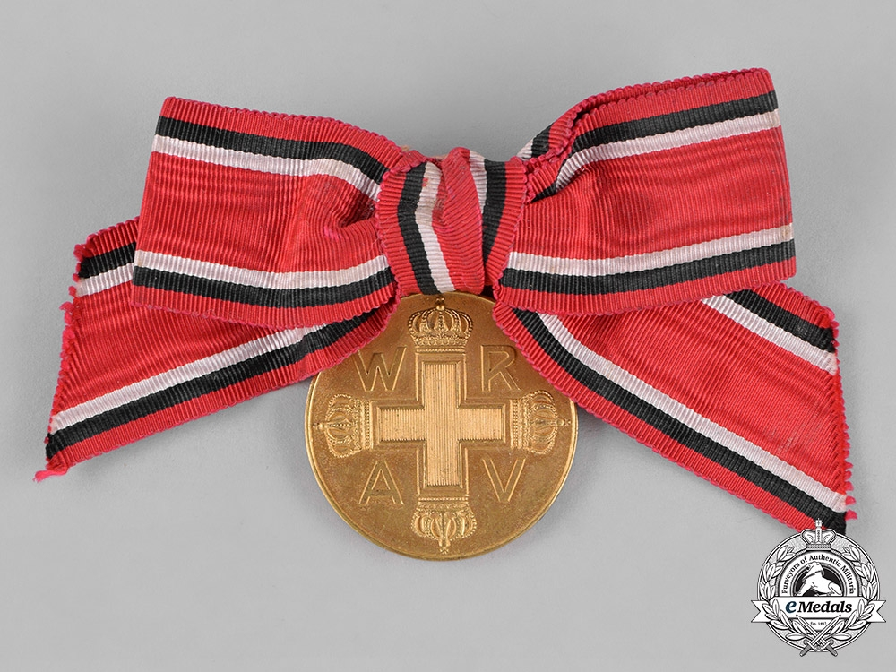 eMedals-Prussia, State. A Red Cross Medal, Third Class