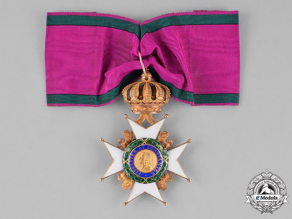 eMedals-Saxe-Gotha/Altenburg Ernestine. An Ernestine House Order in Gold, Commander Cross, c.1900