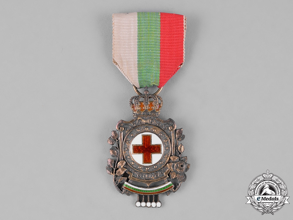 eMedals-Bulgaria, Kingdom. A German-Made Red Cross Badge, 2nd Class