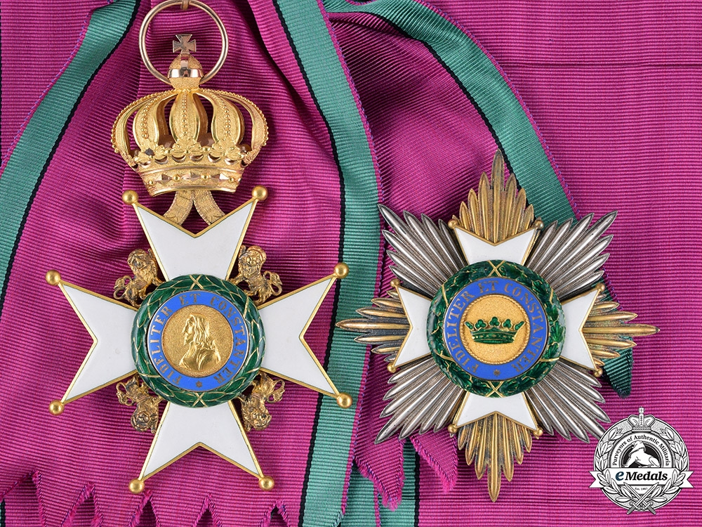 eMedals-Saxe-Gotha/Altenburg Ernestine. An Ernestine House Order in Gold, Grand Cross, c.1900