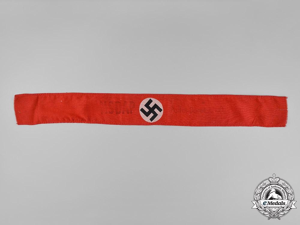eMedals-Germany. An NSDAP Armband
