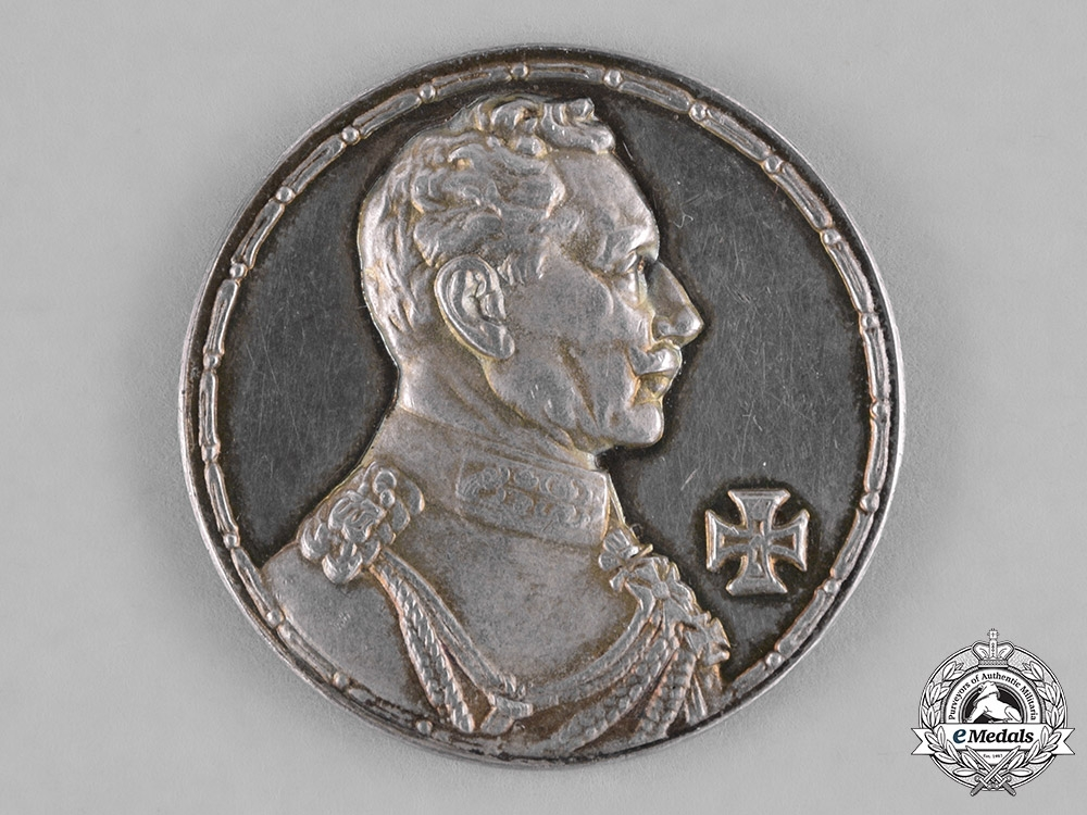 eMedals-Germany, Imperial. A Silver First War Armed Forces Silver Medal