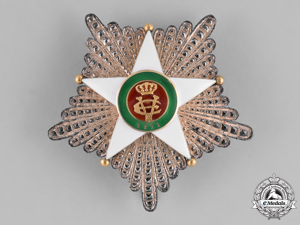 eMedals-Italy, Kingdom. A Colonial Order of the Star of Italy, Grand Cross Star, by D.Cravanzola, c. 1930