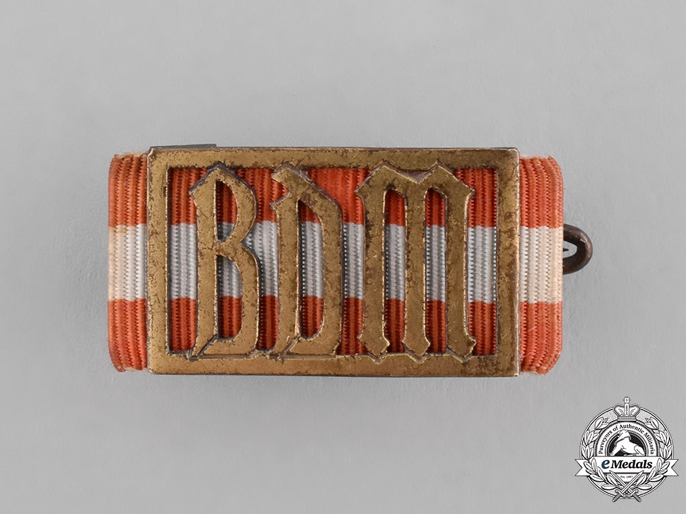 eMedals-Germany, BDM. A League of German Girls Leader's Proficiency Sports Badge
