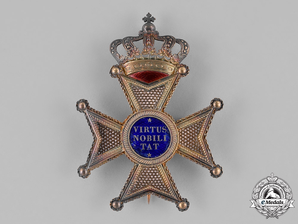 eMedals-Netherlands, Kingdom. An Order of the Lion, II Class Knight Commander, c.1885