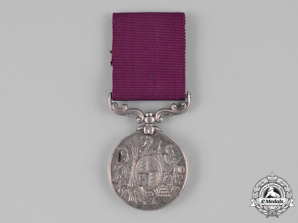 eMedals-United Kingdom. An Army Long Service & Good Conduct Medal, Type II, 98th (Prince of Wales) Regiment