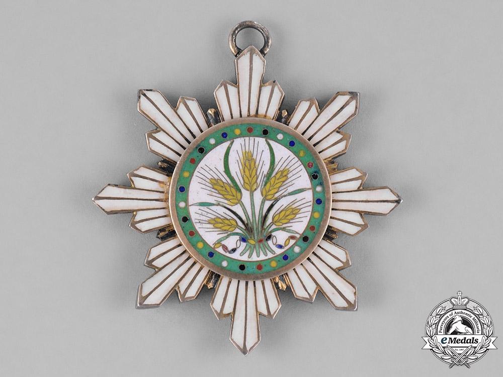eMedals-China, Republic. An Order of the Precious Brilliant Golden Grain, V Class Commander, c.1920