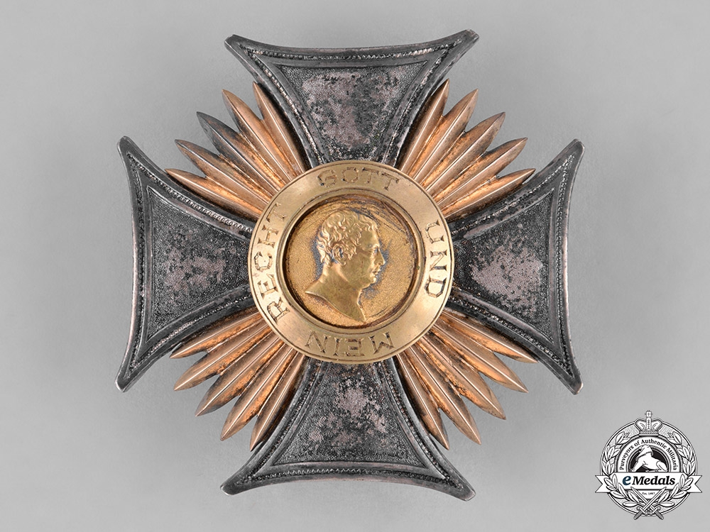 eMedals-Württemberg, Kingdom. An Order of Friedrich, Commander's Star, by Eduard Foehr, c.1915