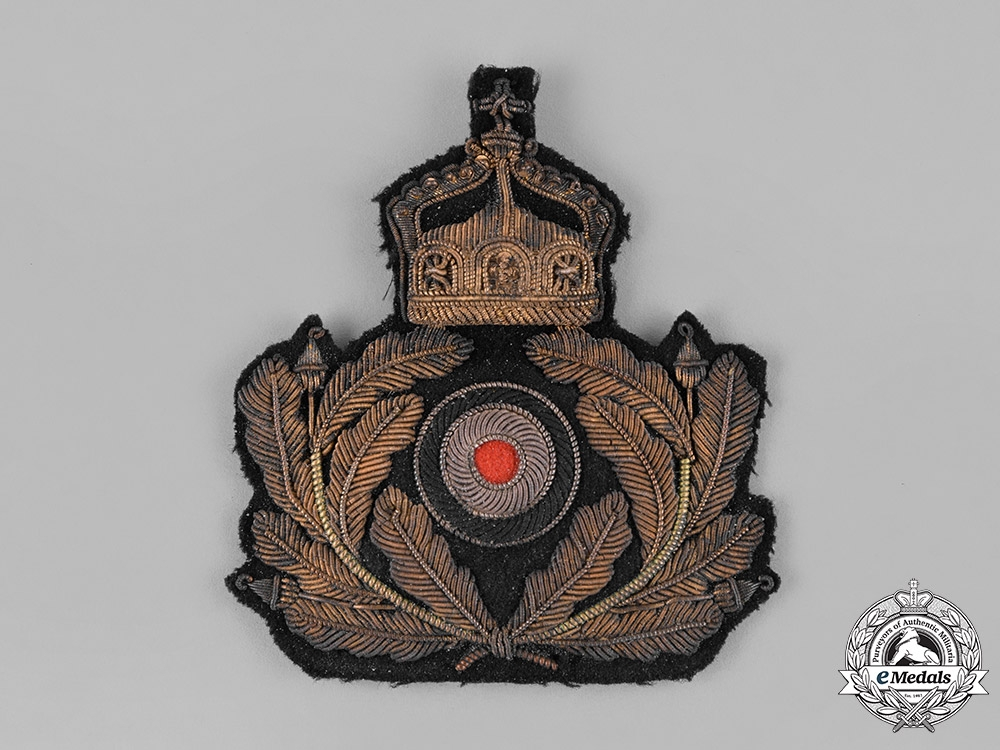 eMedals-Germany, Imperial. An Imperial German Navy (Kaiserliche Marine) Officers' Cap Insignia