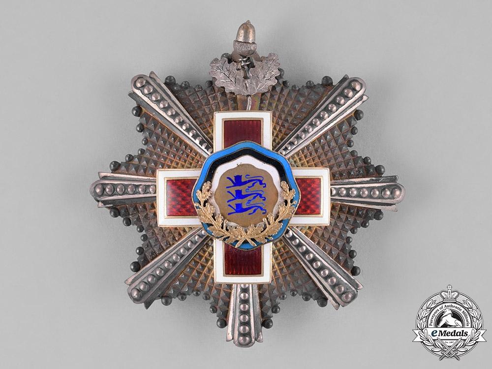 eMedals-Estonia. A Red Cross Order, I Class Grand Cross Star, c.1925