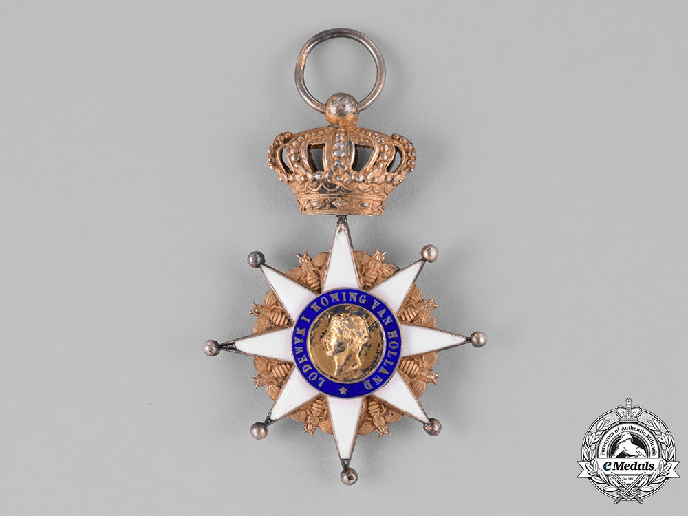 eMedals-Netherlands, Kingdom. A Royal Order of Holland, Knight's Badge, c.1880