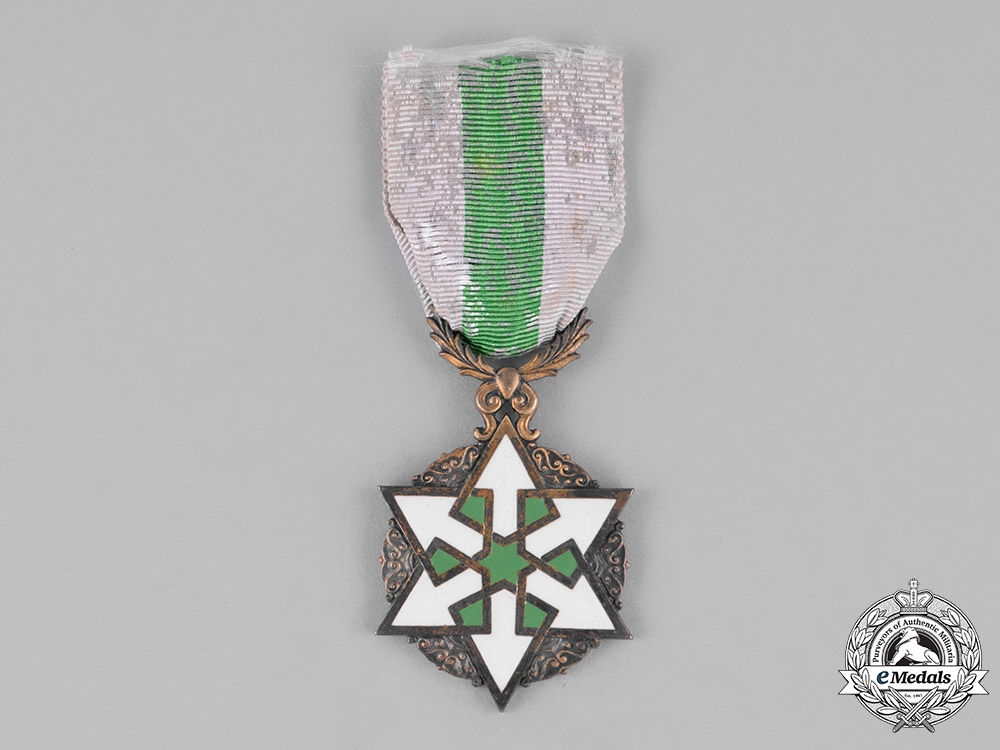 eMedals-Syria, French Protectorate. An Order of Civil Merit, IV Class Officer, by Arthus Bertrand, c.1930