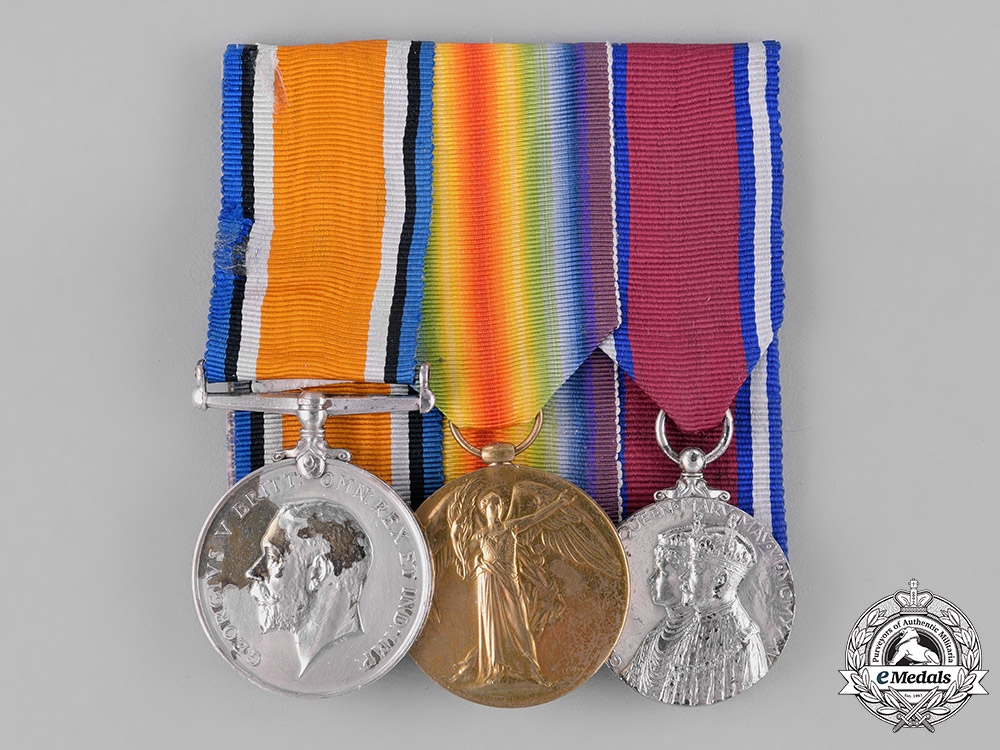 eMedals-United Kingdom. A First War Trio, to Acting Corporal William C. MacDonald, Army Service Corps