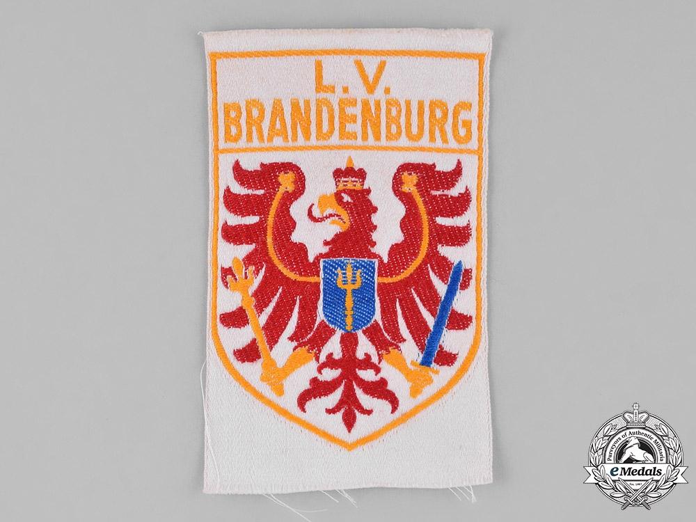 eMedals-Germany, Weimar. A Stahlhelm Brandenburg Sleeve Patch
