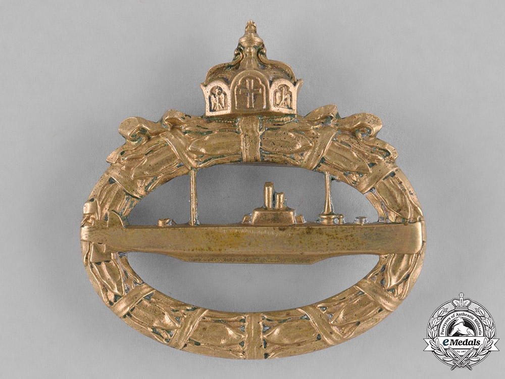 eMedals-Germany, Empire. An Imperial Submarine (U-Boat) Badge
