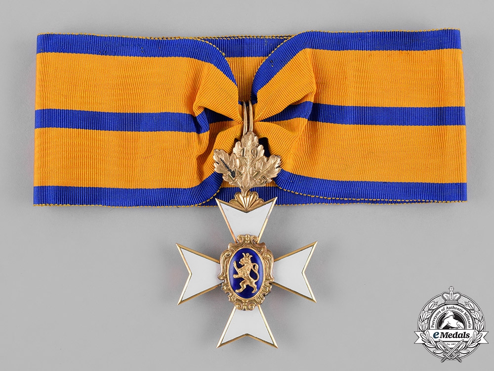eMedals-Schwarzburg-Rudolstadt, Principality. A I Class Honour Cross in Gold, with Oak-Leaves, c.1915