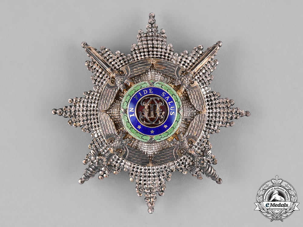 eMedals-Romania, Kingdom. An Order of the Star, Grand Officer's Star, by Resch & Fils, c.1940