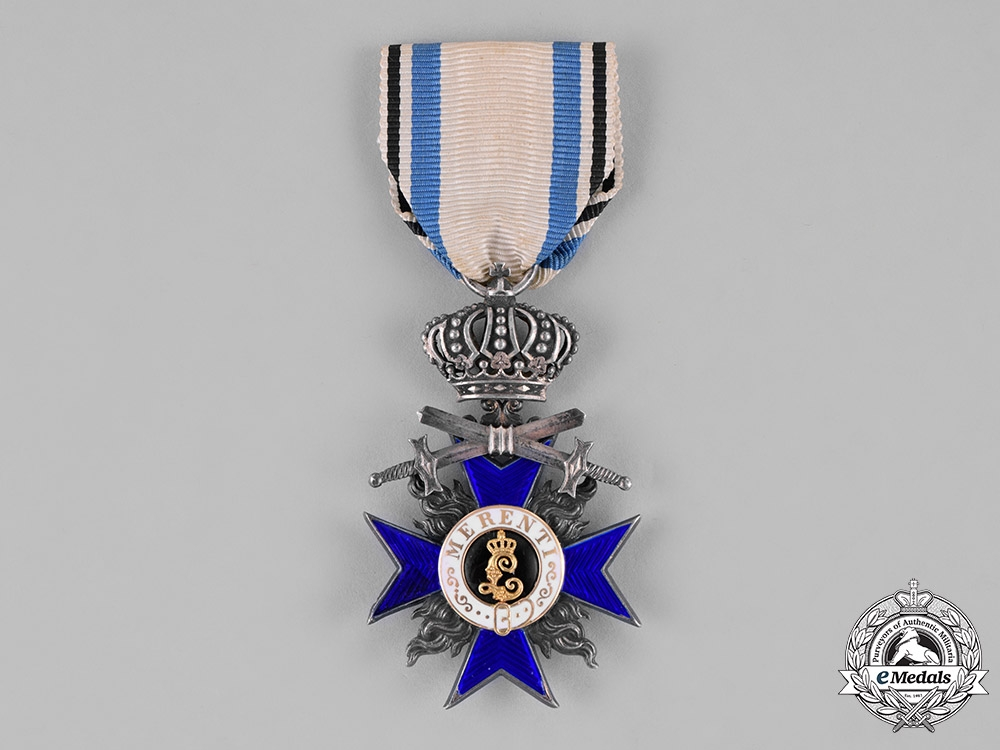 eMedals-Bavaria, Kingdom. A Military Merit Cross, IV Class with Crown and Swords, c.1914
