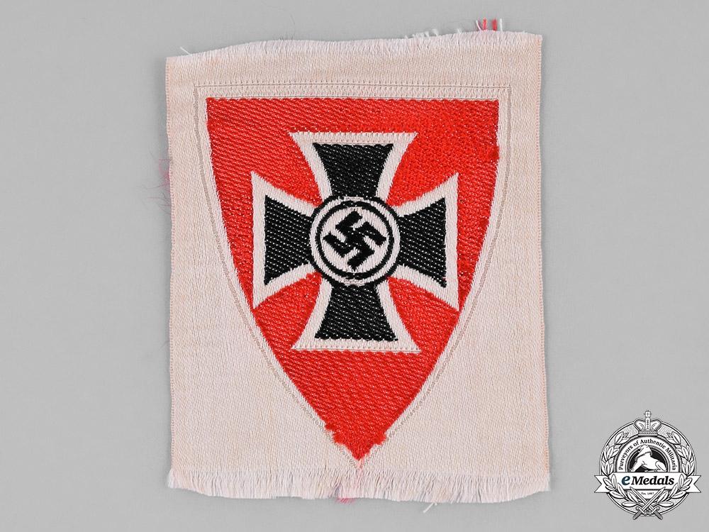 eMedals-Germany, Kyffhäuserbund. A Kyffhäuserbund (Kyffhäuser League) Sleeve Patch