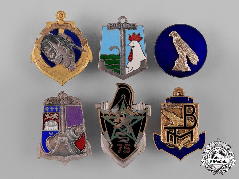 eMedals-France, Republic. Sixteen Naval Service Insignia Badges