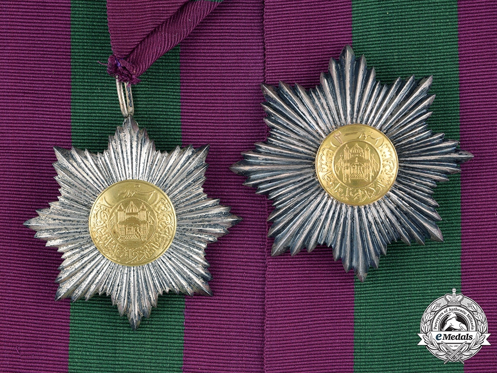 eMedals-Afghanistan, Kingdom. An Order of the Star, II Class Grand Officer, c.1927