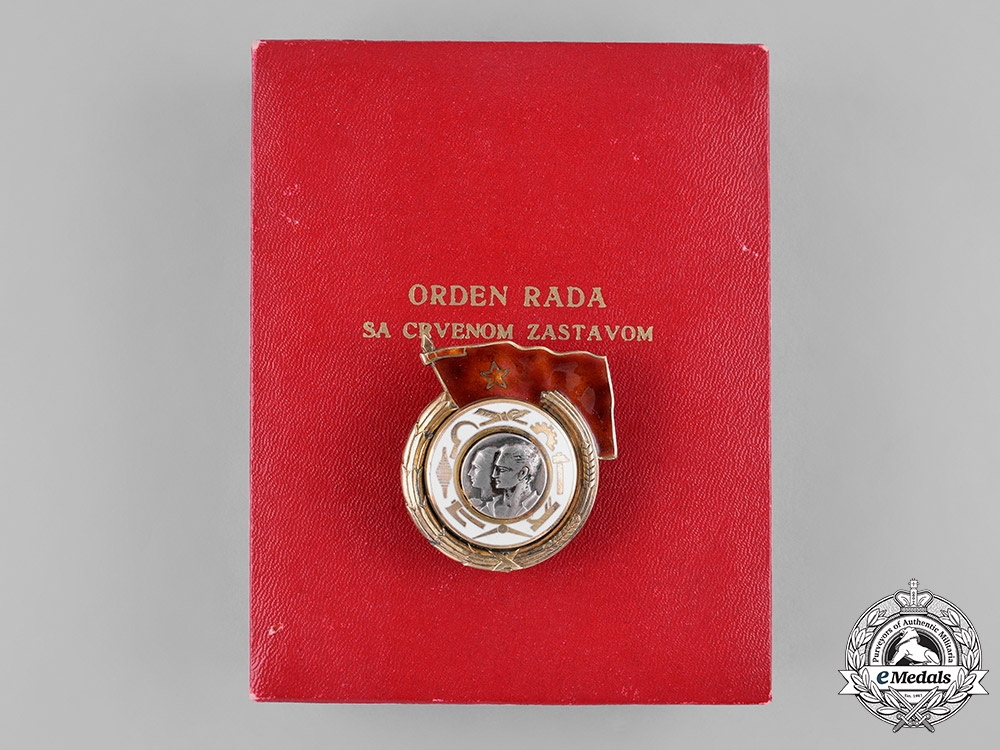 eMedals-Yugoslavia (Socialist Federal Republic). Order of Labour with Red Banner, I Class