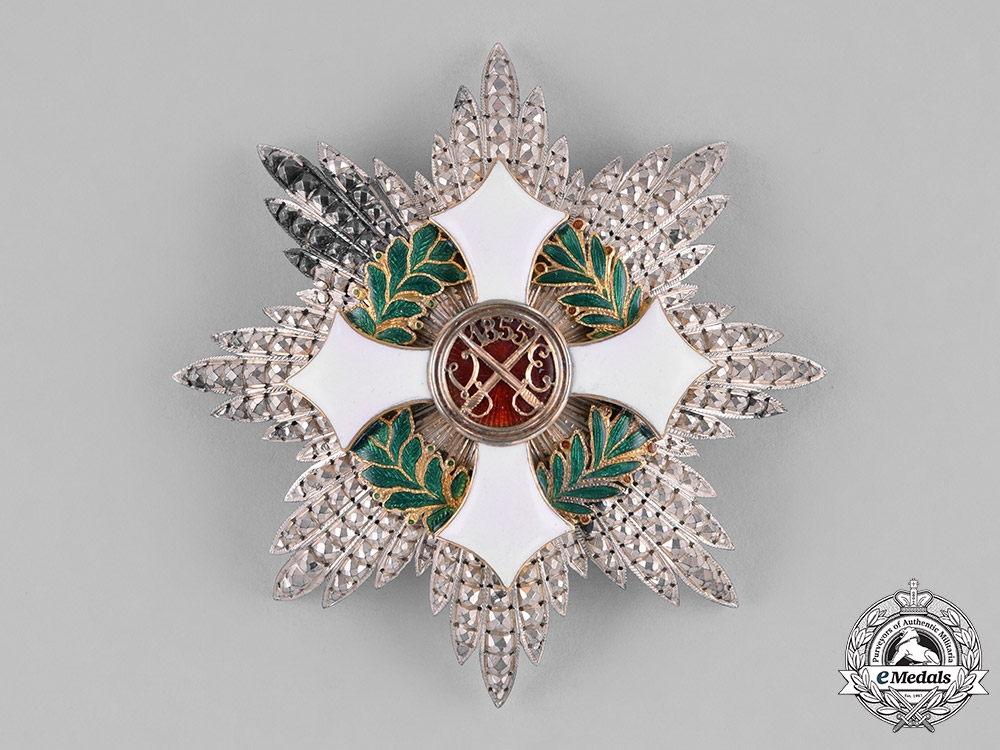 eMedals-Italy, Kingdom. A Military Order of Savoy, Grand Cross Star, by Gardino-Cravanzola, c.1930