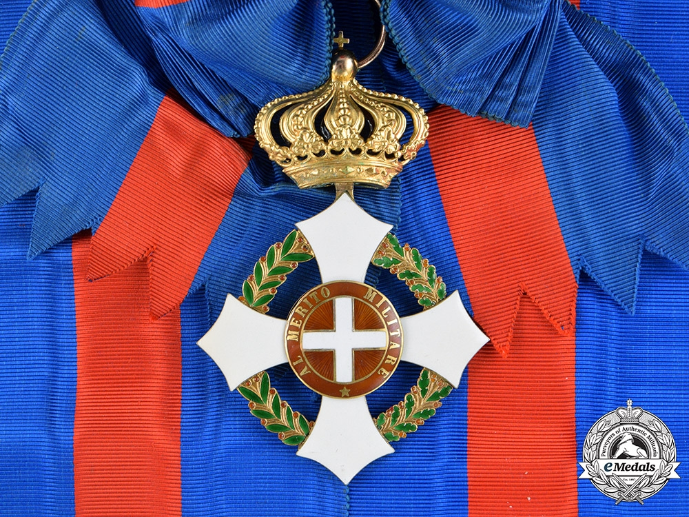 eMedals-Italy, Kingdom. A Military Order of Savoy in Gold, Grand Cross Badge, c.1915