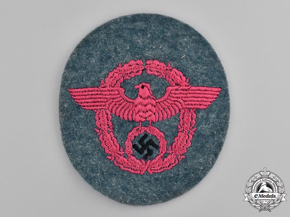 eMedals-Germany, Feuerschutzpolizei. A Feuerschutzpolizei (Fire Protection Police) Sleeve Eagle
