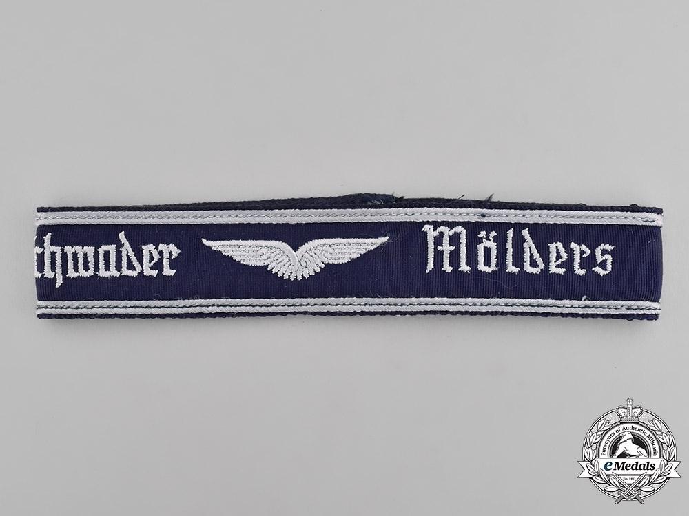eMedals-Germany, Federal Republic. A Geschwarder Mölders Cuff Title