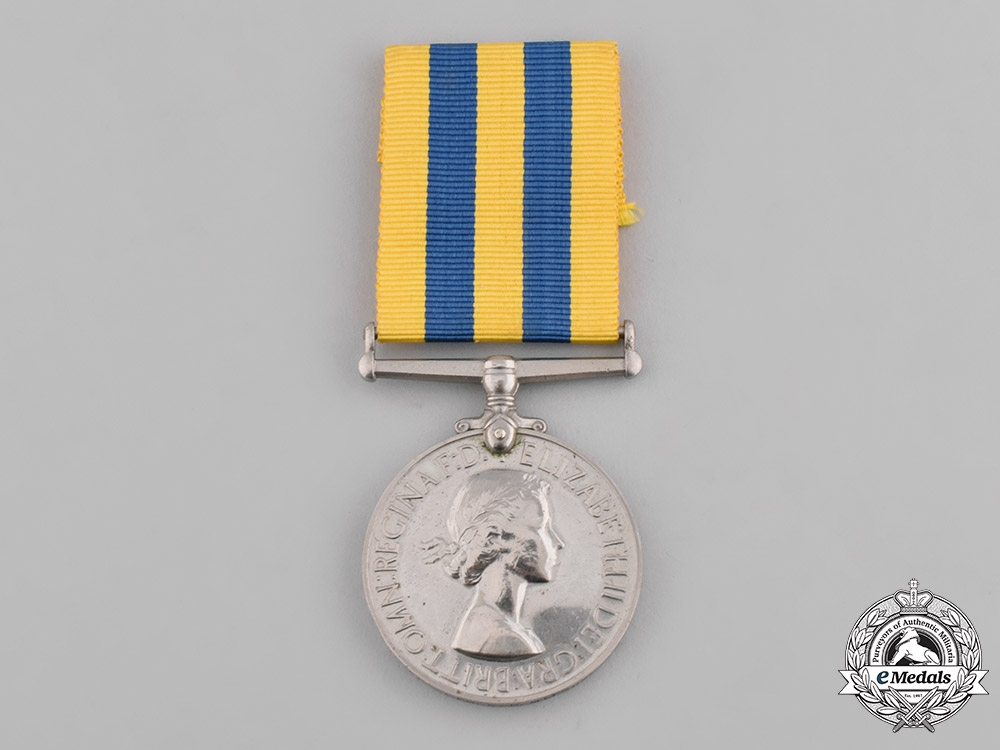 eMedals-United Kingdom. Korea Medal 1950-1953, to Craftsman E.R. Mitchell, Royal Electrical and Mechanical Engineers