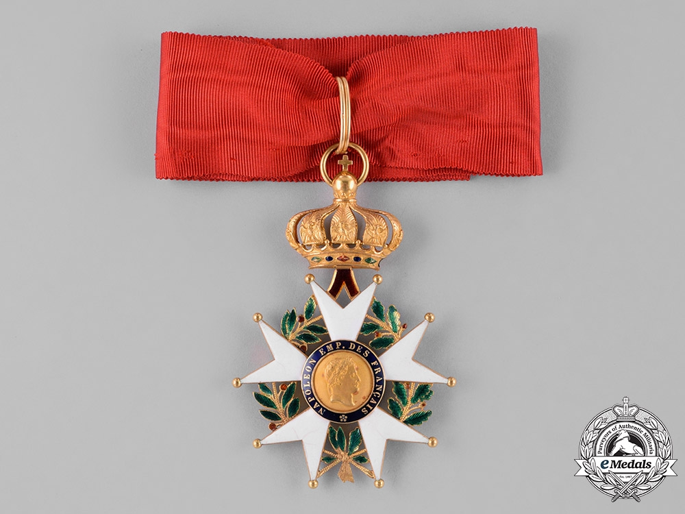 eMedals-France, II Republic. A Legion of Honour in Gold, Commander, c.1860