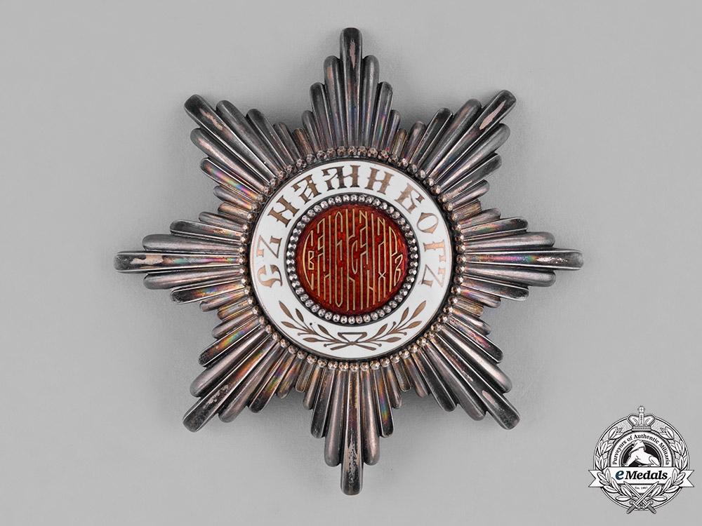 eMedals-Bulgaria, Kingdom. An Order of St. Alexander, Grand Cross Star, by Godet, c. 1900