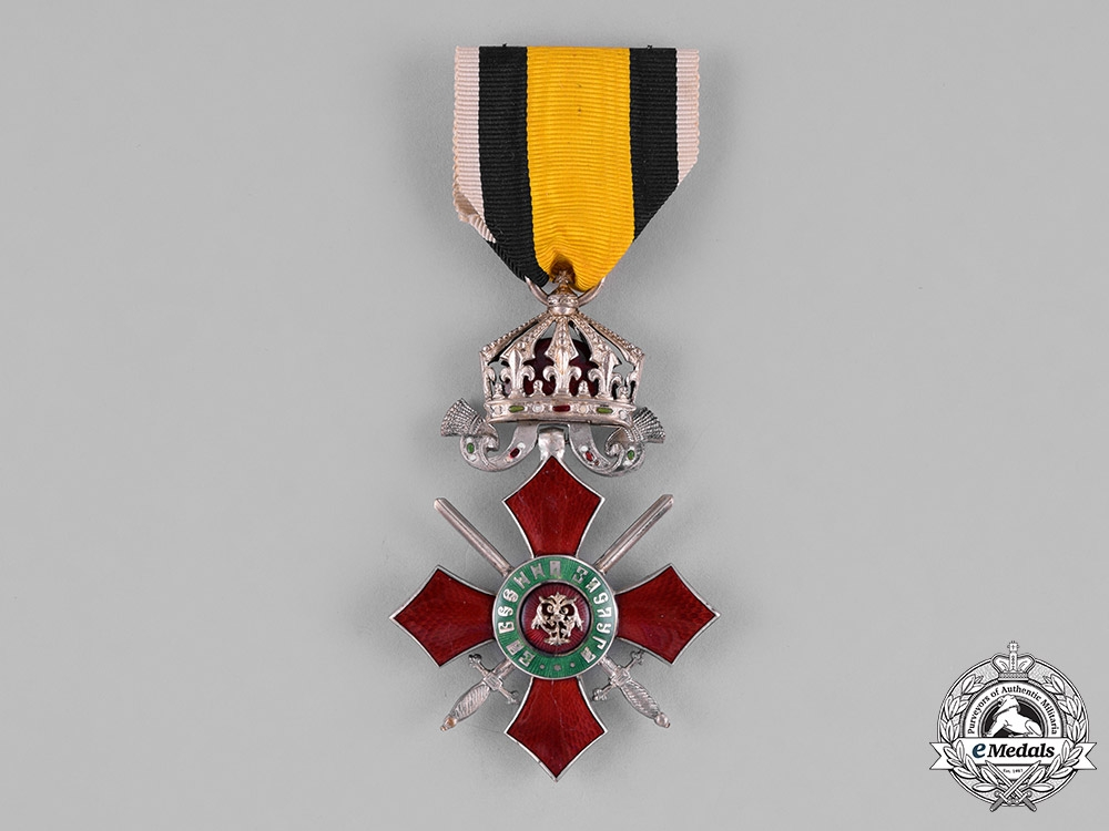 eMedals-Bulgaria, Kingdom. An Order for Military Merit, V Class, c.1915