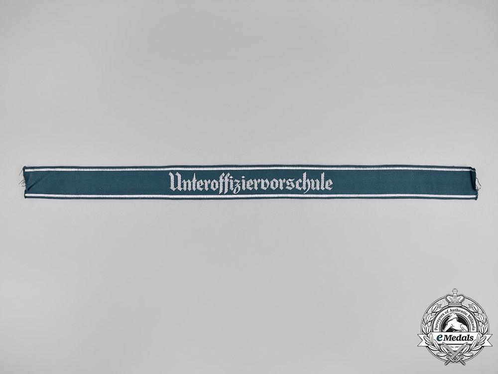 eMedals-Germany, Heer. An Army NCO Preparatory School Cuff Title