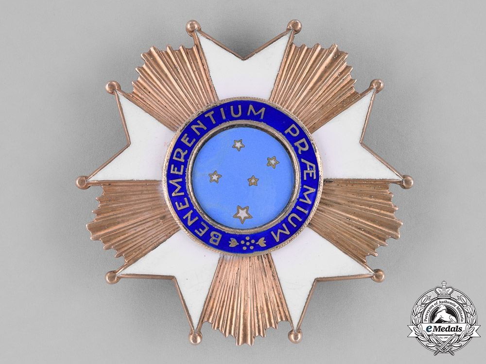 eMedals-Brazil, Republic. A National Order of the Southern Cross, Commander's Breast Star, Type III
