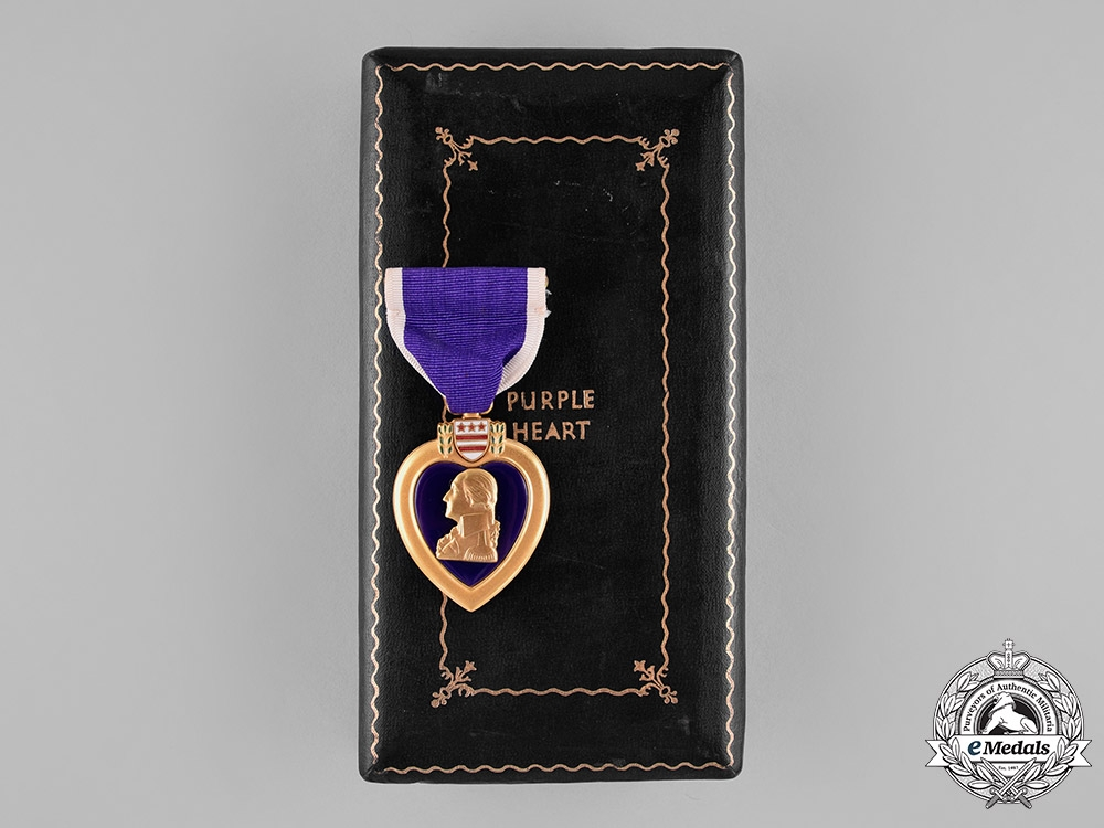eMedals-United States. A Purple Heart with Case