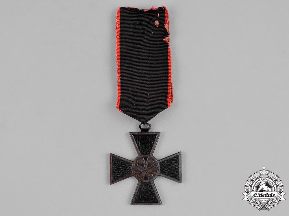 eMedals-Serbia, Kingdom. A Campaign Cross for the War with Bulgaria 1885-1886