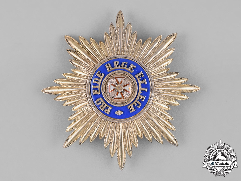 eMedals-Russia, Imperial. An Order of the White Eagle, Grand Cross Star, by Albert Keibel, c.1885